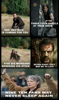 Did some genius just combine Melanie Martinez with the walking dead! However made this is my hero. Love this and the walking dead Walking Dead Funny, Walking Dead Zombies, Carl The Walking Dead, The Walk Dead, Walking Dead Quotes, The Walking Dead 3, Random Walk, Last Action Hero, Twd Memes