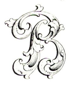 Graceful Leaf Monogram