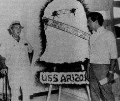 In august 15 1965 Elvis, Vernon and the Colonel visited the USS Arizona in Hawaii.