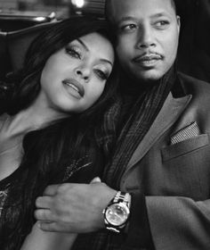 Terrance Howard and Taraji P. Henson of Fox network's Empire. Serie Empire, Empire Cast, Empire Fox, Hip Hop, Empire Quotes, Empire State Of Mind, Film Serie, Black Love, Favorite Tv Shows