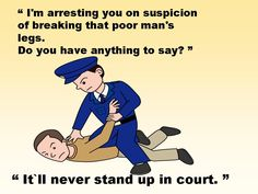 It`ll never stand up in court...