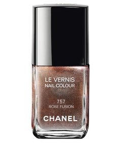Chanel Le Vernis in Rose Fusion | Paint the town red (or gold, or blue!) with these six party-ready picks.