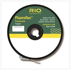 RIO Products Expands Tippet Collection.   Oh man this stuff is GREAT! Any one of 4x down to 7x!