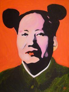 "For Sale: Red Maose by Antti Eklund   $1,300   30""w 40""h   Original Art   https://www.vangoart.co/antti-eklund/red-maose-3d9642dd-2369-441f-ab51-643eb20893f8 @VangoArt"