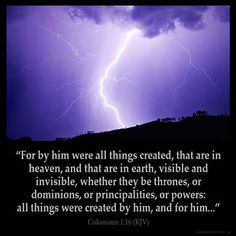 Inspirational Image for Colossians 1:16
