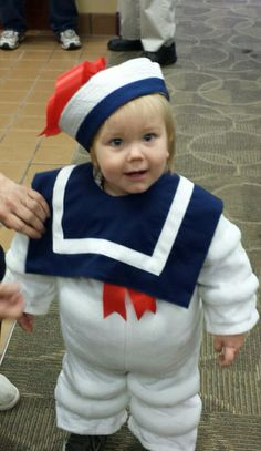 Homemade stay puft marshmallow man costume.  sc 1 st  Pinterest & Stay Puft Marshmallow Man - Halloween Costume Contest at Costume ...