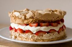 Simply in the Kitchen: Swedish Meringue Cake