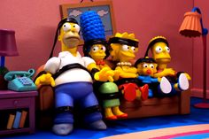 The Simpsons Robot Chicken Couch Gag