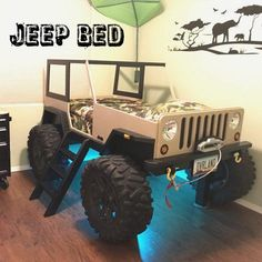 Check out this Jeep Bed build from one of my customers! Make your own today with these instant download plans! #jeepbed