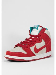 the best attitude 79b84 b4fc7 NIKE Schuh Dunk High Pro SB g.red white. Andrea Fraga · SNEAKERHEAD · Jordan  Sneaker weiß ...