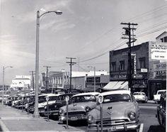 Redondo Beach 1958 Manhattan Beach California, California History, Southern California, Redondo Beach Pier, Life In The 1950s, Bullhead City, Ocean At Night, Nostalgic Pictures, San Luis Obispo County