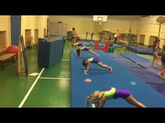 Shaping and handstands - YouTube