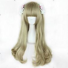 Synthetic None-lacewigs Synthetic Wigs Honest Hairjoy Cosplay Party Wig Women Side Bangs 100cm Long Straight Synthetic Hair 22 Colors Available Online Discount