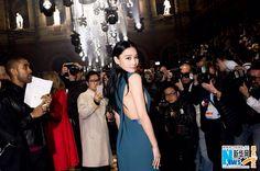 Zhang Xinyu in Paris for Fashion Week