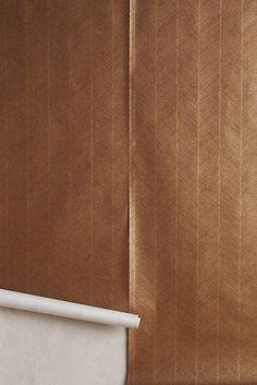 Carved Chevron Wallpaper