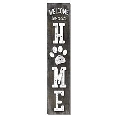 Welcome Signs Front Door, Wooden Welcome Signs, Front Porch Signs, Diy Wood Signs, Wood Pallet Signs, Front Porches, Pallet Crafts, Diy Pallet Projects, Wood Crafts
