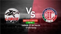Lobos Buap vs Toluca en vivo
