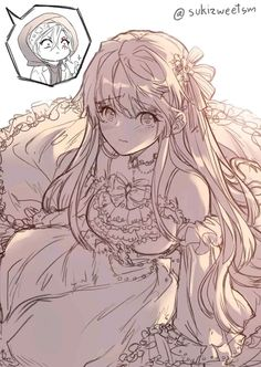 Blonde Anime Girl, Anime Girl Cute, My Character, Manga Girl, Webtoon, Anime Characters, Maya, Fairy Tales, Drawings