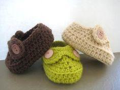 Crochet Dreamz: Boy's Slippons