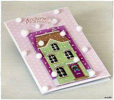 misha_cards / *Vianočný domček*