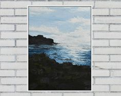 Check out this item in my Etsy shop https://www.etsy.com/au/listing/271010286/original-painting-giants-causeway