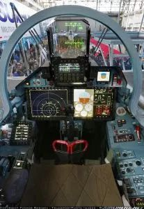 Flanker-E Glass Cockpit – Russian Air Force Sukhoi Su 35, Glass Cockpit, Jet Fighter Pilot, Fighter Jets, Military Jets, Military Aircraft, Gloster Meteor, Photo Avion, Aircraft Interiors