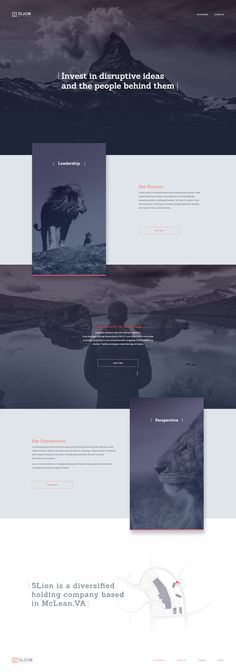 Dribbble minimal layout web design elegant web design