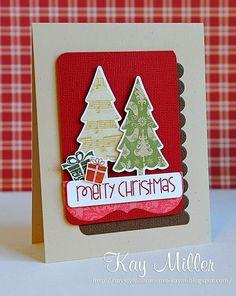 christmas tree card - gifts - My Joyful Moments: Festive Friday #33