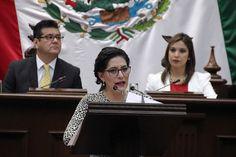 La diputada del PRI presentó una iniciativa de reformas a la Ley Orgánica Municipal, así como a la Ley Orgánica de la Administración Pública y al Código Electoral del Estado ...