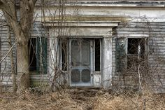 Abandoned house in Addison, Vermont.