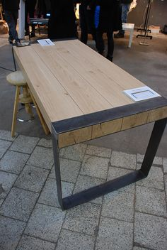 Poppyworks   Meble Minimalistyczne | Wrocław Wood Table, Timber Table, Diy  Table, Patio