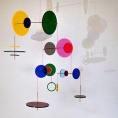 LMC Mobile from Jordi Canudas Studio, 2017 for sale at Pamono Mobile Art, Hanging Mobile, Kinetic Art, Royal College Of Art, Design Show, Studio Design, Installation Art, Sculpture Art, Sculpture Garden