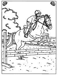ausmalbilder pferde mit reiterin | ausmalbilder pferde