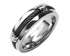 Image result for mens rope wedding rings
