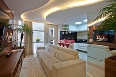 Busca imágenes de diseños de Salas / recibidores estilo moderno de Designer de Interiores e Paisagista Iara Kílaris. Encuentra las mejores fotos para inspirarte y crear el hogar de tus sueños.