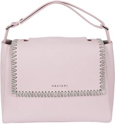 Best price on the market at italist Totes, Pocket, Front Row, Silver, Pink, Leather, Bags, Fashion, Handbags