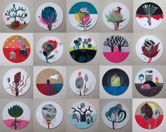 © Muriel Kerba – patchwork collage