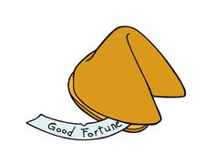 Draw a Fortune Cookie -- via wikiHow.com