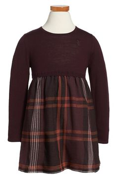 Burberry+'Opelia'+Check+Print+Dress+(Toddler+Girls)+available+at+#Nordstrom