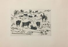 Pablo Picasso, 'La Tauromaquia', 1959
