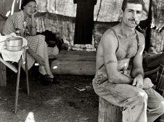 Great Depression couple