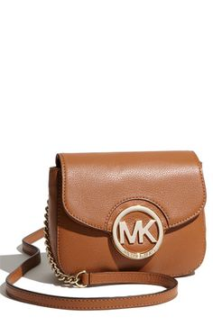My new Michael Kors crossbody bag. Super duper cute!