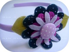 Tiara lilás | Flickr - Photo Sharing!