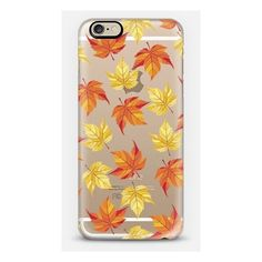 Samsung Galaxy / LG / HTC / Nexus Phone Case - Fall Leaves Pattern-... ($40) ❤ liked on Polyvore featuring accessories, tech accessories, phone cases, autumn and fall