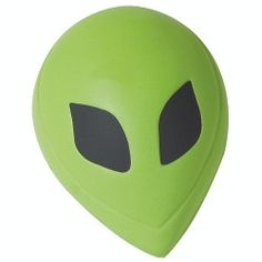 Alien head shape stress reliever is perfect in wanting your company to stand out at any promotional event! Fun for any business to add another dimension on making contact with new customers and clients. Show some green with envy at the upcoming science fiction and gaming conventions and zap the competition!