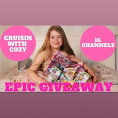 WE ARE SO EXCITED TO BE A PART OF THE Most Epic Collab giveaway ever!!! Watch entire video on you tube link in bio to see prizes.  Full rules below:  The EPIC Cruisin with Cozy Giveaway!  SIXTEEN of the Cruisin with Cozy host channels have gotten together and are giving away 2 EPIC prize packages!  There are even two customized repainted LOL Surprise dolls up for grabs! We have 1 US/Canada Prize package that includes 12 prize packages worth over $400 and we have 1 UK Prize package that…