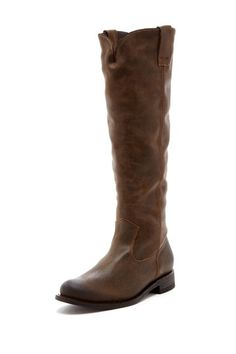The perfect brown leather boot