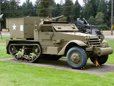M15A1 Half-track – Walk Around