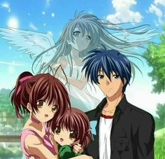 Clannad After Story, Nagisa Ushio y Tomoya
