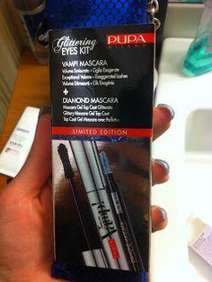 VOX MakeUp - Make Up, Cosmetici, Prove e Swatch di Trucchi Vari : Mascara Pupa Glittering Eyes Kit Blue Glitter Vamp! Mascara e Diamond Mascara Blue